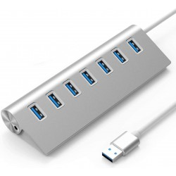 Luxebell USB Hub 7-Port Charging Interface Expansionfor Desktop/Laptop Computers