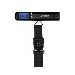 Luxebell® Digital Luggage Scale Maximum 50kg Portable Digital Luggage Scale Graduation Ideal for travel - batteries included