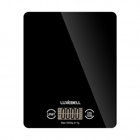 Digital Kitchen Scales Luxebell Professional Touch Electronic Home Scale Accurate Gram With Lcd Display