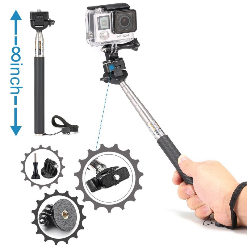 Luxebell Accessories Kit For Gopro Hero 5 4 3 3 2 1