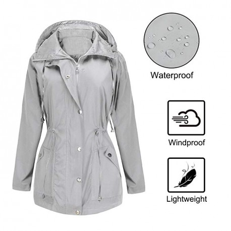 Canigou Women's Lightweight Packable Outer Jackets